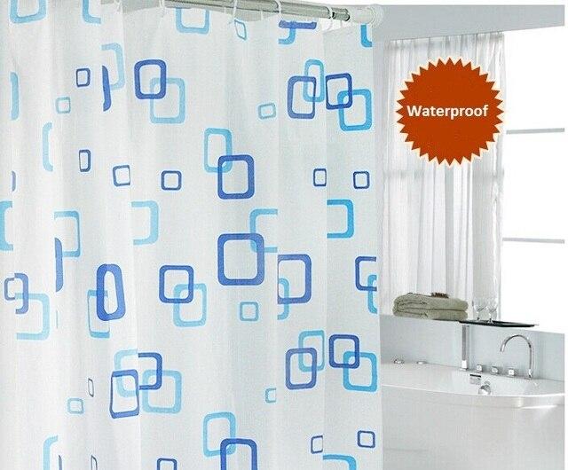 Doccia bagno tenda impermeabile peva tende con 12 ganci in plastica bagno Prodot
