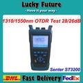 St3200 óptico avanzado de mano OTDR similares con EXFO SM 1310 / 1550nm 28 / 26dB