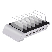 Universal 6 Port USB Charging Station Dock Charger Stand Holder For iPhone 6 7 8 X for iPad for Samsung S8 S7 Edge Note Android