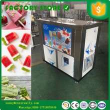 Free shipping by air to supply the 110V/220V Stainless Steel commercial popsicle machine popsicle stick machine with 2 moulds