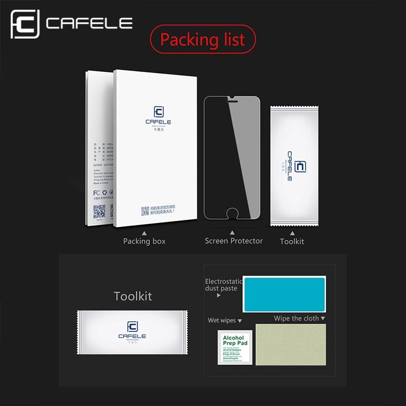 CAFELE HD Clear Glass για το iPhone 11 Pro MAX X X MAX 8 X Plus - Ανταλλακτικά και αξεσουάρ κινητών τηλεφώνων - Φωτογραφία 6