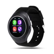 FineFun L6 Casual Bluetooth Watch Phone Smart Pedometer Heart Rate Monitor, SIM Card Support TF MTK2502C Smart Watch Android IOS