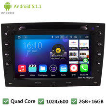 Quad Core 16GB Android 5.1.1 7″ HD 1024*600 DAB+ WIFI FM BT Car DVD Player Radio GPS PC Stereo For Renault Megane 2 II 2003-2010