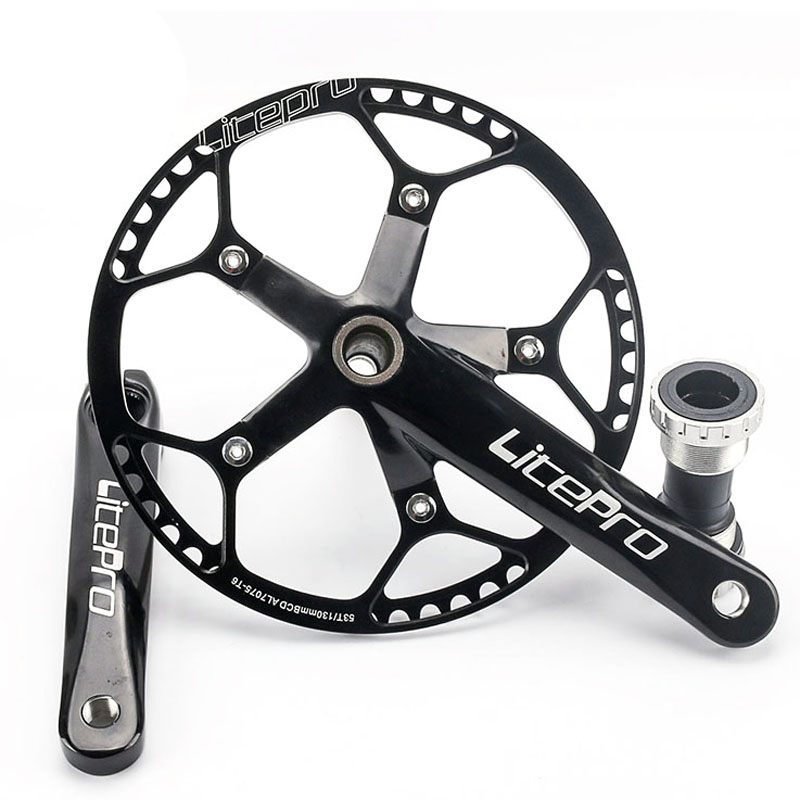 45T/47T/53T/58T*170mm Ultralight Aluminum Crank Road Bicycle Retro Chainring Bike Crankset&Crank Hollow Out Chainwheel west biking bike chain wheel 39 53t bicycle crank 170 175mm fit speed 9 mtb road bike cycling bicycle crank