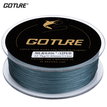 Goture 114 Meters PE Braided Fishing Line 4 Stands 8LB 10LB 20LB 30LB 40LB 50LB 60LB 65LB 80LB Multifilament Fishing Line