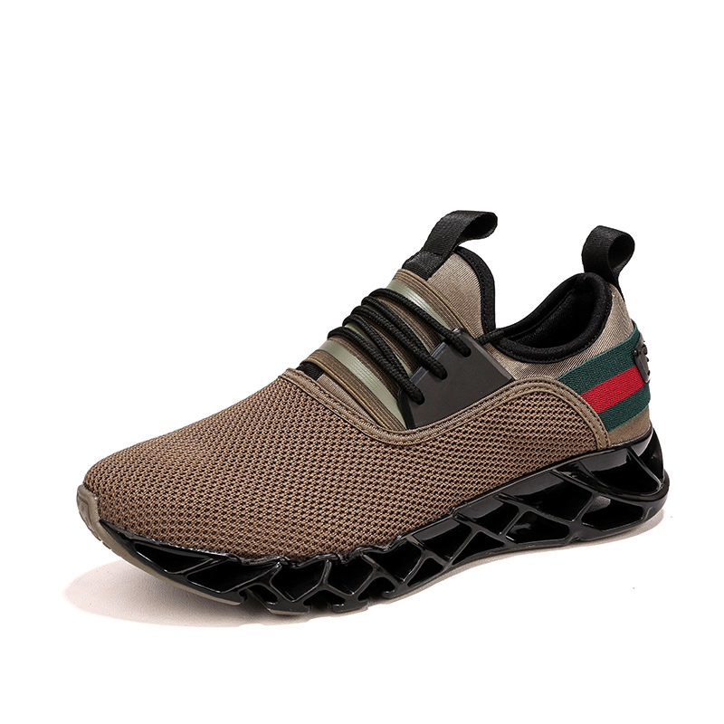 Breathable Sneakers Lace Up Comfortable Men's Shoes 1