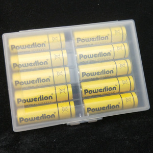 Image 5 - Wodoodporne plastikowe baterie torba pojemnik Case AA/przechowywania baterii AAA pudełko typu organizer Box Case na 10 sztuk baterii AAA lub AA