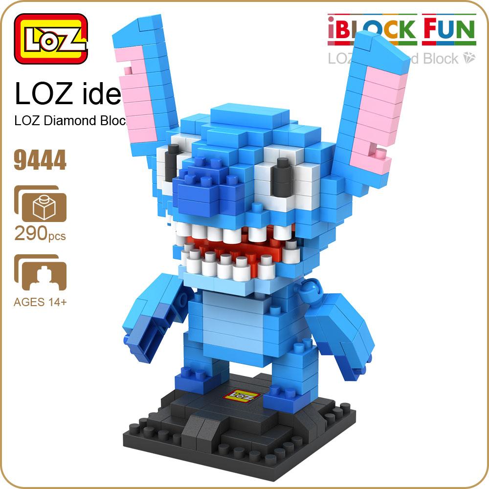 LOZ Diamond Building Blocks Plastic Assembly font b Toys b font Hobbies Monster Anime Figure DIY