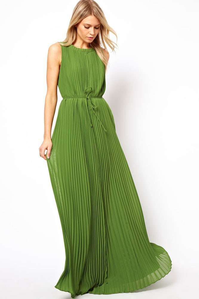 cheap green maxi dresses