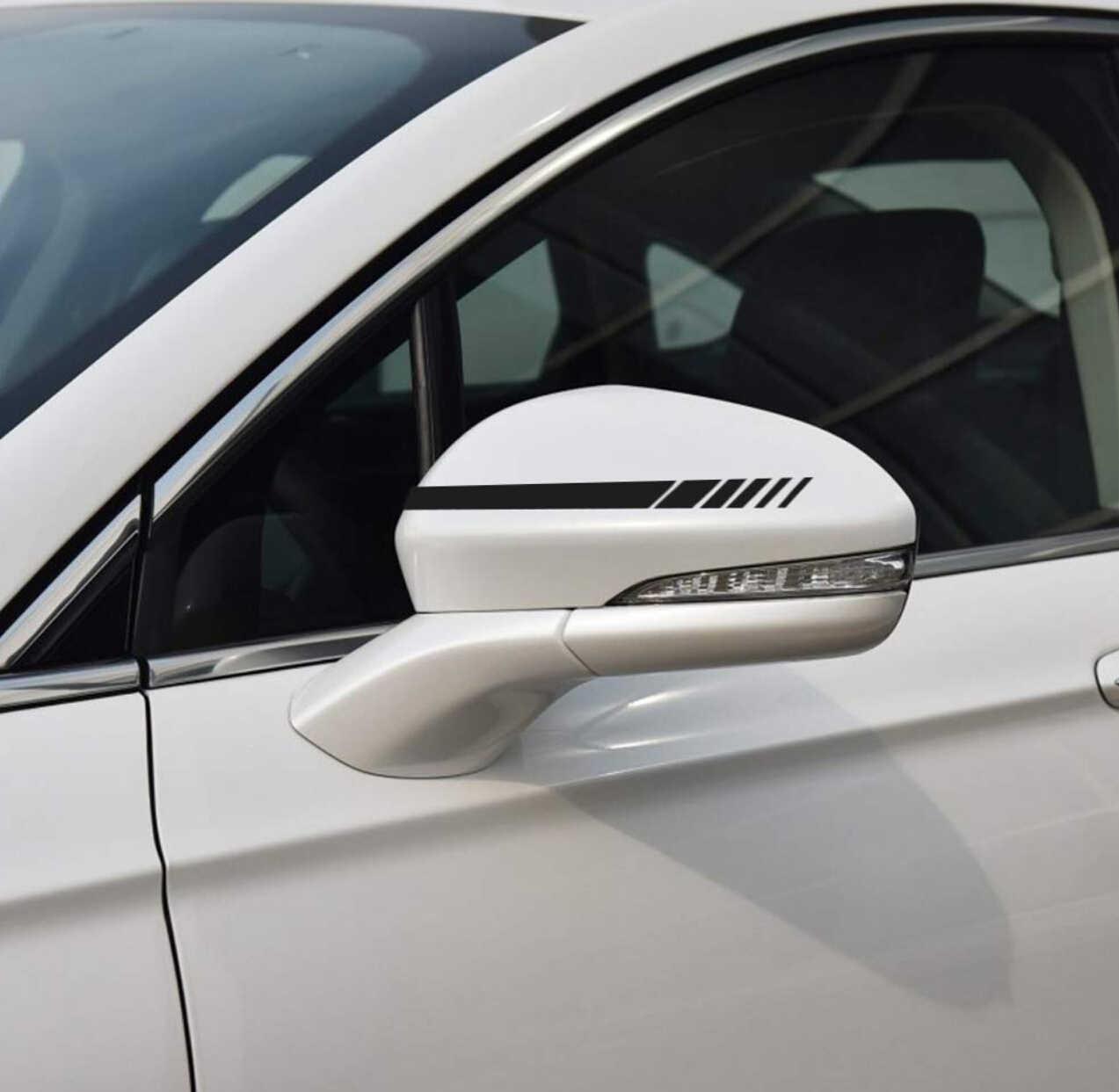 2 шт. автомобильный Стайлинг авто внедорожник виниловая графика Автомобильная наклейка зеркало заднего вида боковая наклейка полоса DIY наклейки для автомобиля