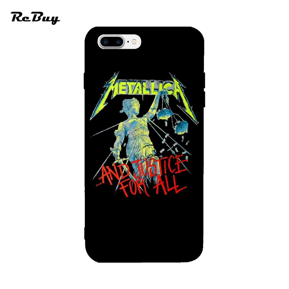 separation shoes 8f875 e133a Metallica Justice For All For Iphone 6Plus/7Plus Case Glaze Cover ...