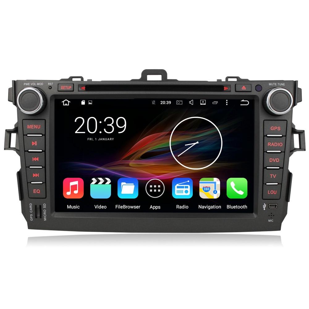 8 Octa Core Android 6 0 font b Car b font Multimedia GPS Navigation font b