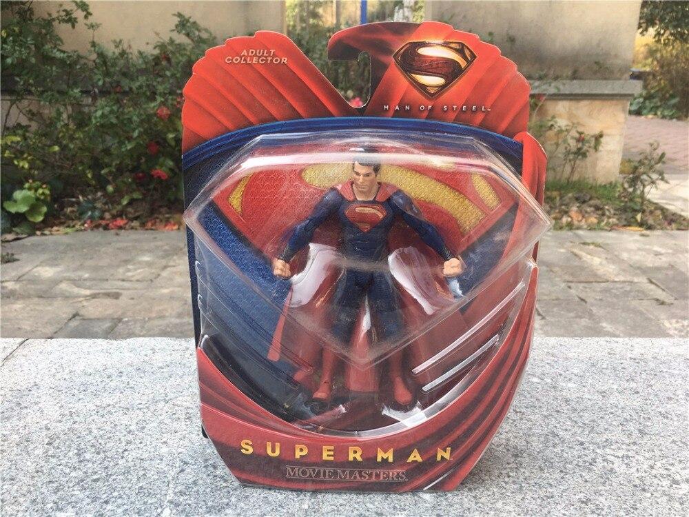 """DC Comics <font><b>Man</b></font> <font><b>of</b></font> <font><b>Steel</b></font> <font><b>Movie</b></font> <font><b>Masters</b></font> 6"""" 15cm <font><b>Action</b></font> <font><b>Figure</b></font> Superman Brand New"""