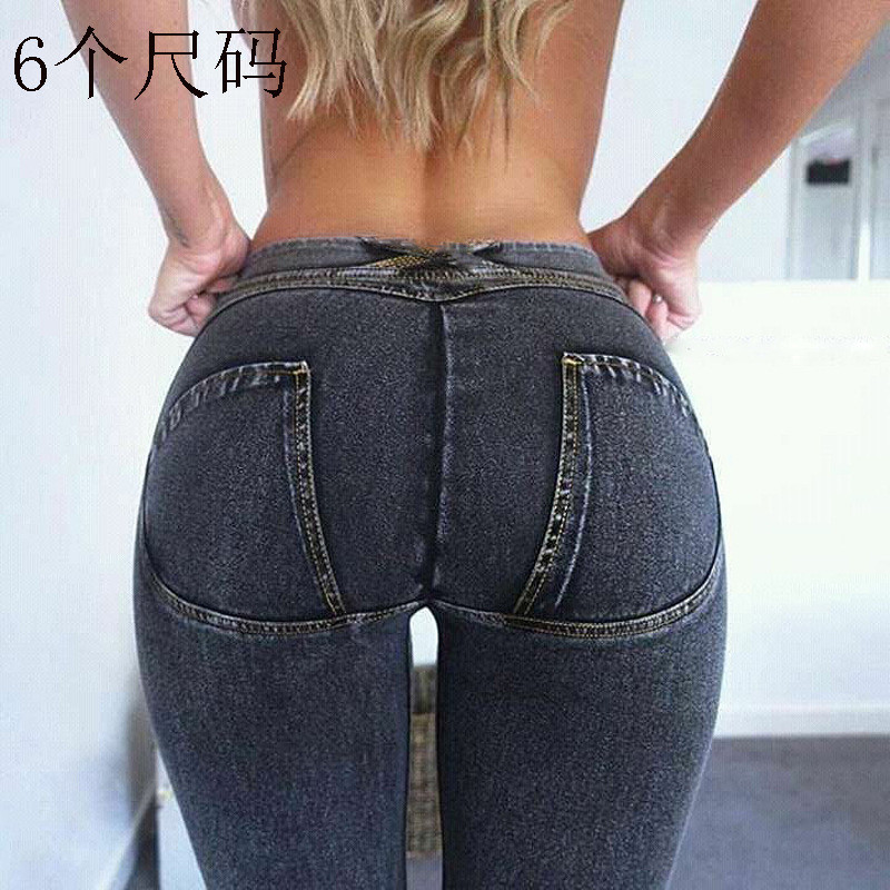 Women's   leggings   Pants for fitness Elastic Plus Size Jeans Slim Sexy Denim Pencil woman's Jeans laggings for woman