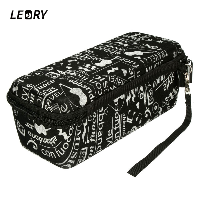 LEORY Portable Mini Speaker Hand Carrying Bag For Bose SoundLink Protective Carry Case With Strap For Speakers leory portable speaker case for bose soundlink mini multilayer protective speaker bag pouch extra space for plug