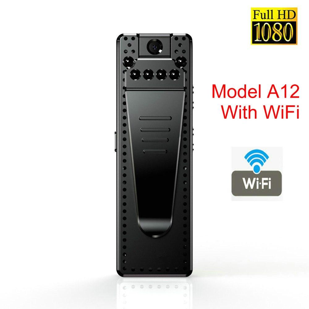 Mini WiFi Camera HD 1080P Sensor Night Vision Camcorder Motion DVR Micro Camera Sport DV Video Wireless Small Camera Clip Cam