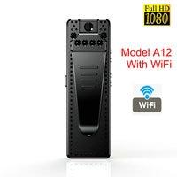 Mini cámara WiFi HD 1080P con Sensor de visión nocturna, videocámara de movimiento DVR, Micro Cámara deportiva DV, pequeña cámara inalámbrica con Clip