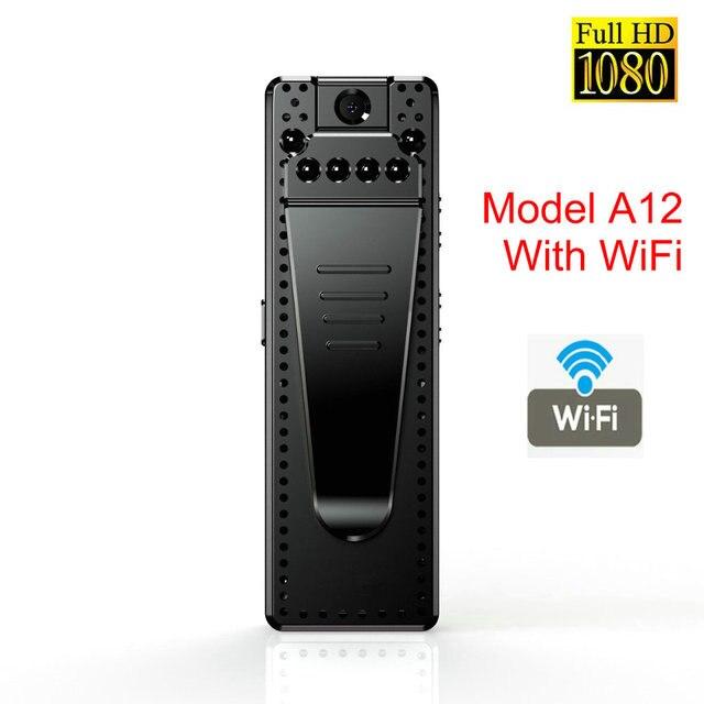 Mini kamera wi fi HD 1080P czujnik noktowizor kamera Motion DVR mikro kamera Sport DV wideo bezprzewodowy mały zacisk do kamery cam