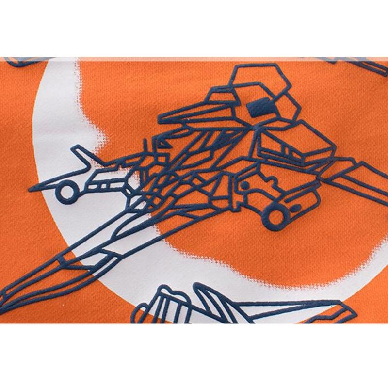 La MaxPa Baby Boy Hoodies 2018 New Design Airplane Pattern Print Sweatshirts Long Sleeve T-shirt for Boys Children Clothes Top