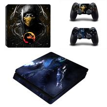 Mortal Kombat PS4 Slim Skin Sticker For PlayStation 4 Console and Controller For Dualshock 4 PS4 Slim Skin Sticker Decal