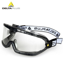 цена на Deltaplus Safety Goggles Anti-Impact Anti chemical splash Protective Glasses Goggles Lab Labor Eye Protection Riding Anti-fog