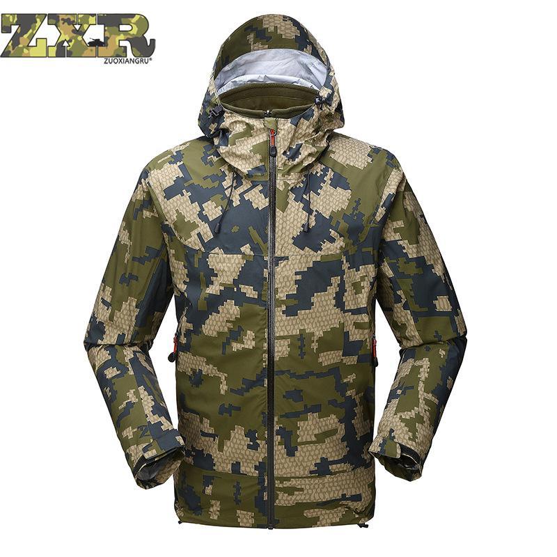 재킷 남자 뜨거운 판매 품질 겨울 남자 야외 위장 소프트 쉘 폭행 의류 방수 군사 전술 재킷-에서재킷부터 남성 의류 의  그룹 1