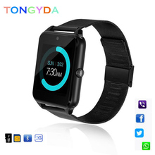 Get more info on the Z60 Smart Watch GT08 Plus Metal Strap Bluetooth Wrist Smartwatch Support Sim TF Card Android&IOS Watch Multi-languages PK S8 A1