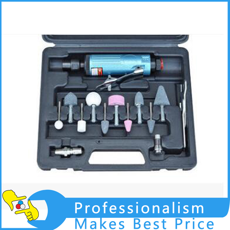 Air Compressor Die Grinder Grinding Polish Stone Kit Air Angle Die Grinder Kit Pneumatic Tools air die grinder mag 094n air tools max free speed 23 500rpm