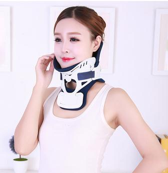 Adult men and women home Neck collar correction strength neck fixed support cervical adjustable neck guard adjustable wrist and forearm splint external fixed support wrist brace fixing orthosisfit for men and women