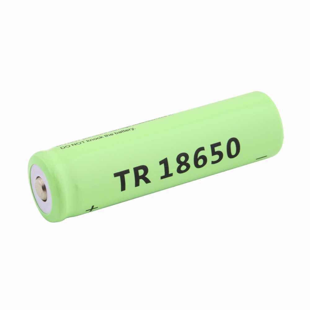 18650 Li-Ion Capacità di 5800 mAh 3.7 V Batteria Ricaricabile per LED Torcia Torcia Blu Torcia Batterie