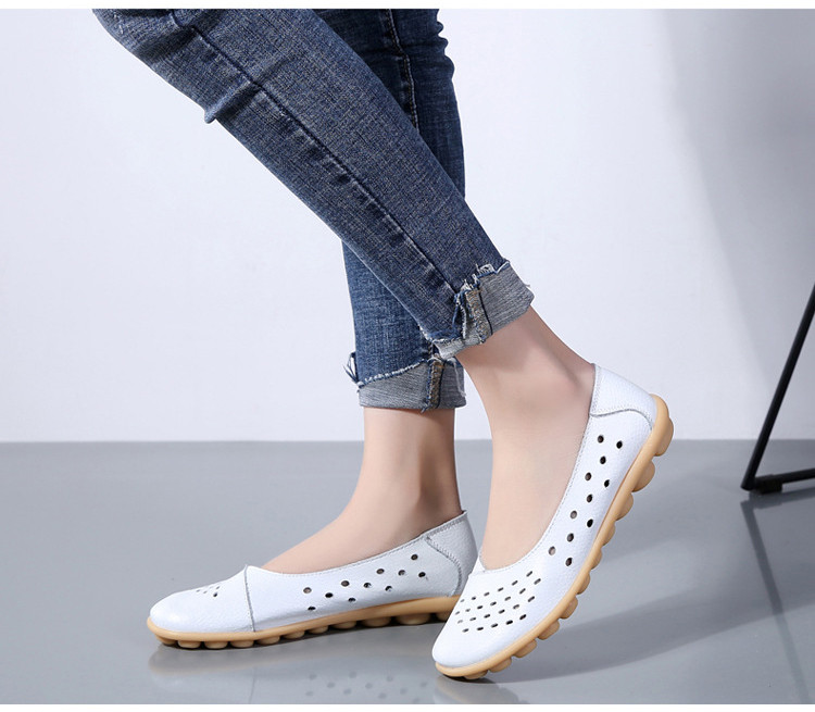 AH 5929-1-2019 Summer Woman Flats Cut-Outs Women Loafers-10