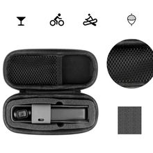 Mini Handheld Waterproof Storage Bag Carrying Case with Carabiner for DJI OSMO Pocket Gimbal Camera Accessories dji osmo pocket case storage bag portable bag module storage compatible with wireless osmo pocket accessories