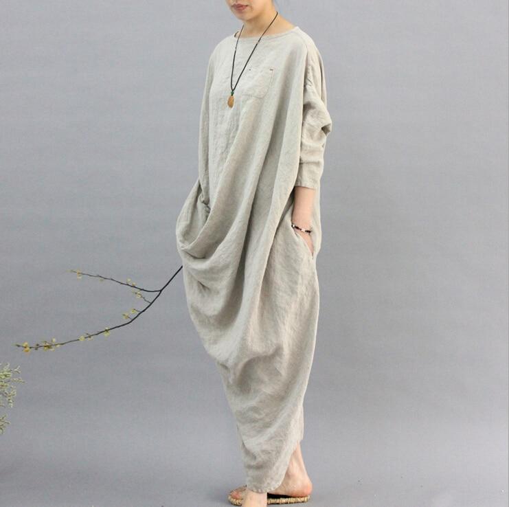 Beautiful Blouse Original Chinese Style Womens Wear Literature Retro Irregularity Frenulum Simple Sackcloth Female Shirts N229 Women's Clothing