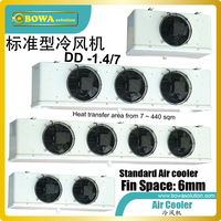 7m2 air cooler matches 1~1.5HP MBP condensing unit, excellent for custom walk in rooms and reach in chambers