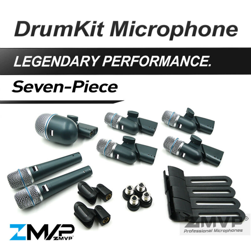 Free Shipping! B DMK7 Professional Percussion Drums Guitar Brass 7 Piece DrumKit Instrument Microphone with Carrying Case free shipping b dmk7 professional percussion drums guitar brass 7 piece drumkit instrument microphone with carrying case