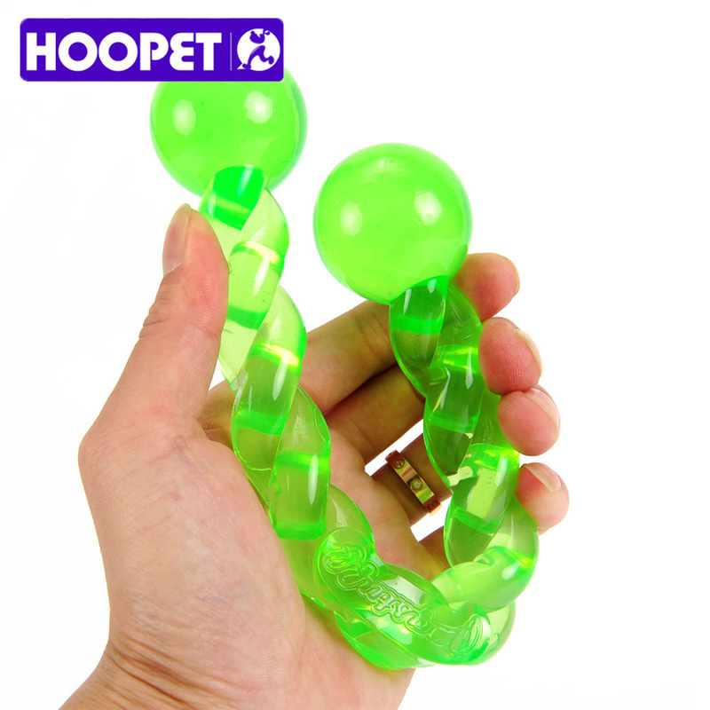 Hoopet Toys Big Dog Stick Toys Environmental TPR Rubber Material Pet Dog Bite Resistant Chew Toys Bulldog Play Toys 19.5/31CM