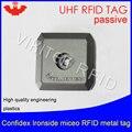 UHF rfid-метка  анти-металлическая идентификация ironside mirco 915m 868 МГц Impinj Monza4QT EPCC1G2 6C прочный ABS смарт-карта пассивные RFID-бирки