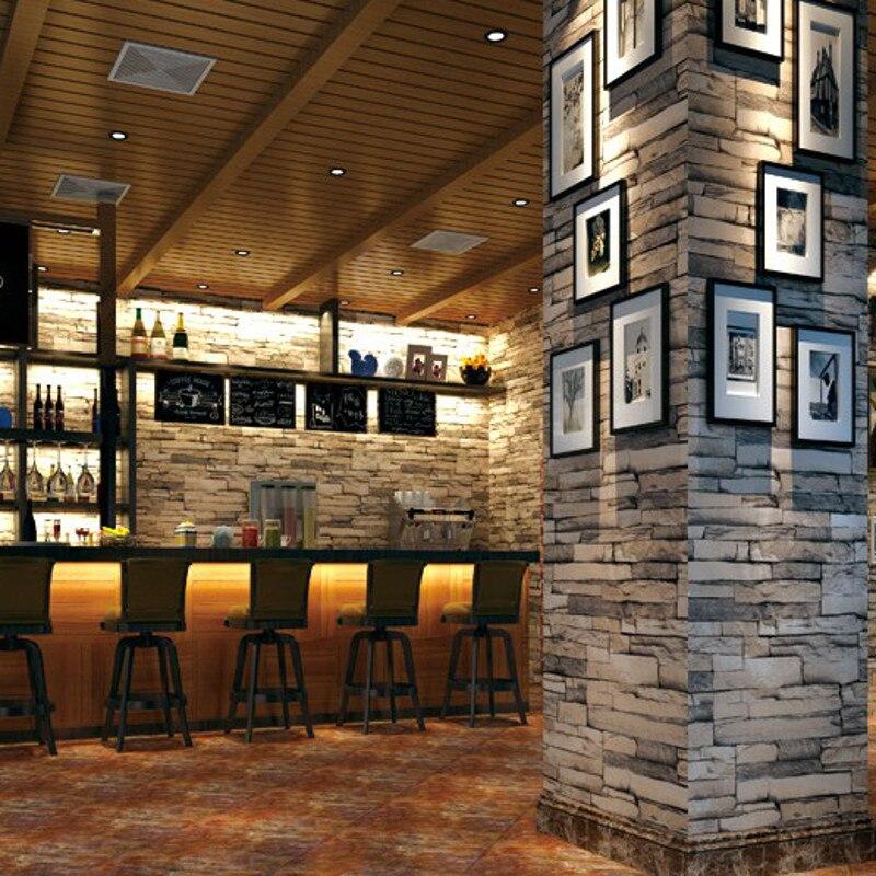 brique papier peint gris promotion achetez des brique papier peint gris promotionnels sur. Black Bedroom Furniture Sets. Home Design Ideas