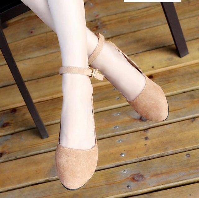 nouvelle simpe infirmière simpe nouvelle automne flats de loisirs des talons de chaussures plates af753d