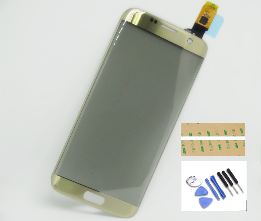 Nova Tela de Toque Digitador Substituição de Vidro Para Samsung Galaxy S7 borda G935 frete grátis