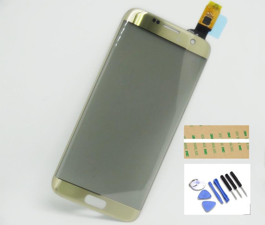 Nuovo Touch Screen Digitizer Vetro Per Samsung Galaxy S7 bordo G935 Rimontaggio spedizione gratuita