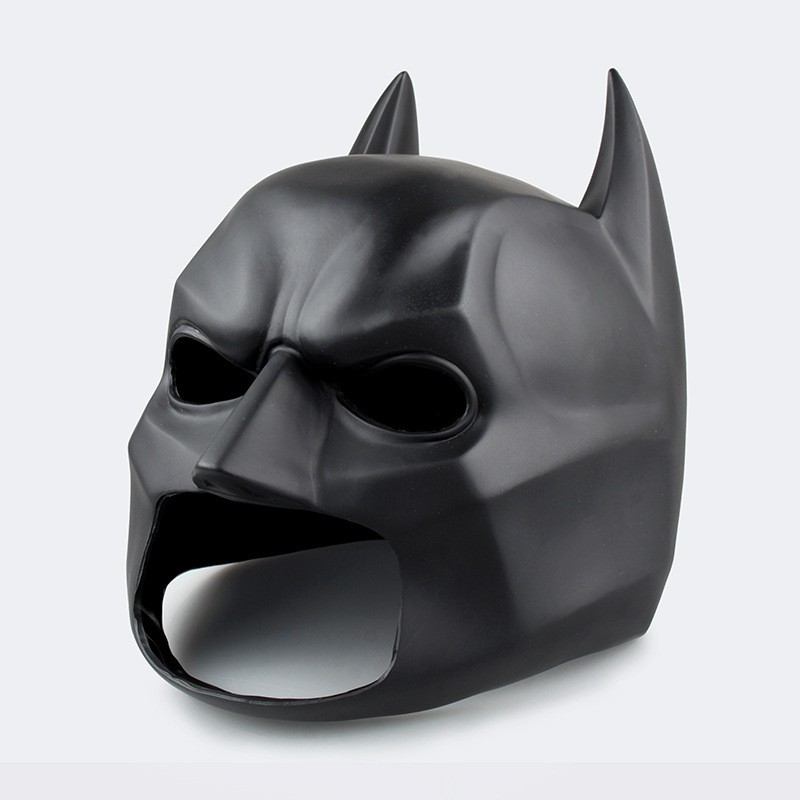 Batman Mask The Avengers Dawn of Justice Dark Knight Rises Super Heroes Action Figure Face Mask Model PVC Collection Toys