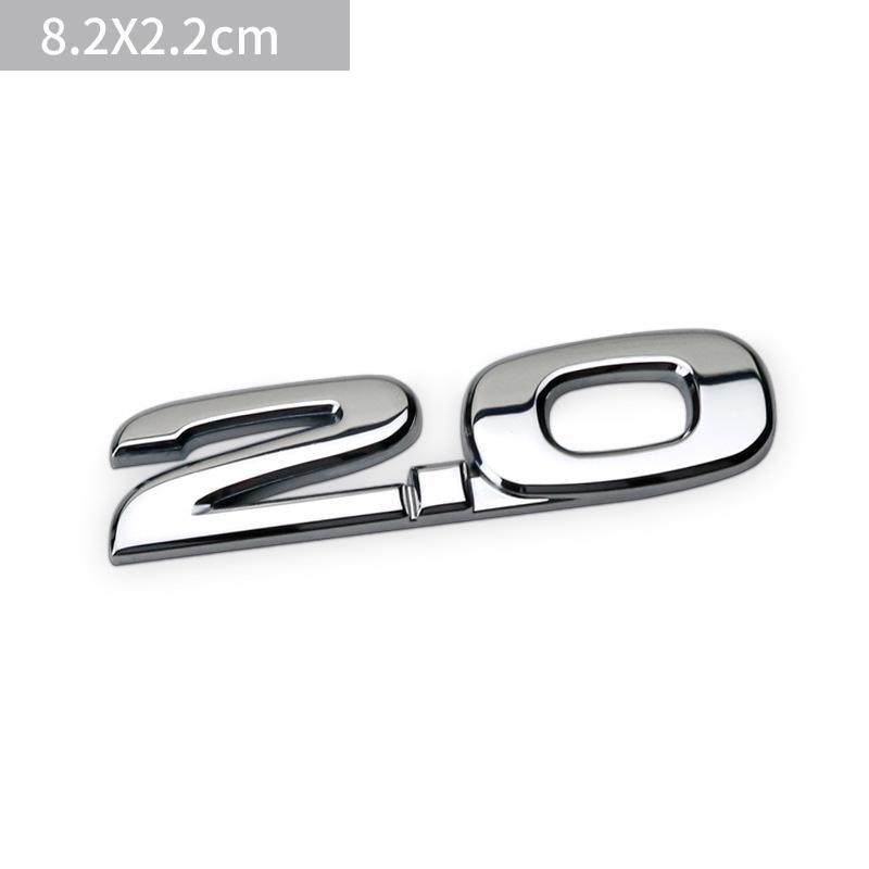3D автомобиль 2,0 2,5 Awd металлический знак, эмблема, значок