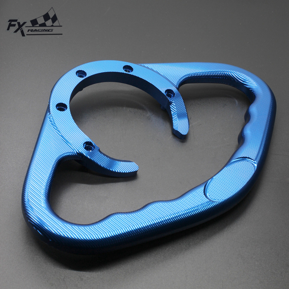 For KTM DUKE 125 <font><b>200</b></font> 390 CNC Motorcycle Passenger Handgrips Hand Grip Tank Grab Bar Handles Armrest For Bajaj NS200 <font><b>NS</b></font> <font><b>200</b></font> image