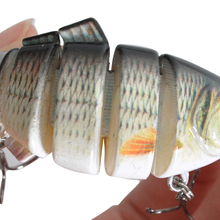 3D Fish Shaped Fishing Bait with 2 Hooks