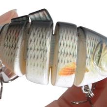 Piscifun Fishing Lure 10cm 20g 3D Eyes 6-Segment Lifelike Fishing Hard Lure