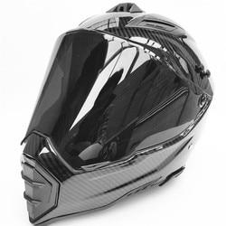 Z włókna węglowego druku mężczyzna motos downhill kask motocyklowy off road casco kask motocrossowy zatwierdzony capacete kaski motocyklowe
