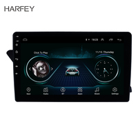 Harfey 10.1Android 8.1 GPS Navi HD Touchscreen Radio for Audi A4L 2009 2016 with Bluetooth USB WIFI AUX support DVR SWC Carplay