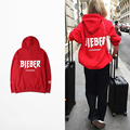 Justin Bieber Purpose Tour Hoodie Men Copenhagen Red Sweatshirt Women The World Tour Unisex Hoodies Streetwear Tracksuit Homme