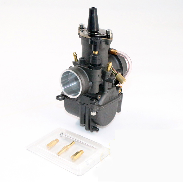 Black PWK Power Jet Carburetor 28mm 30mm 32mm 34mm Universal Motorcycle RACING Carb Scooters dirt bike